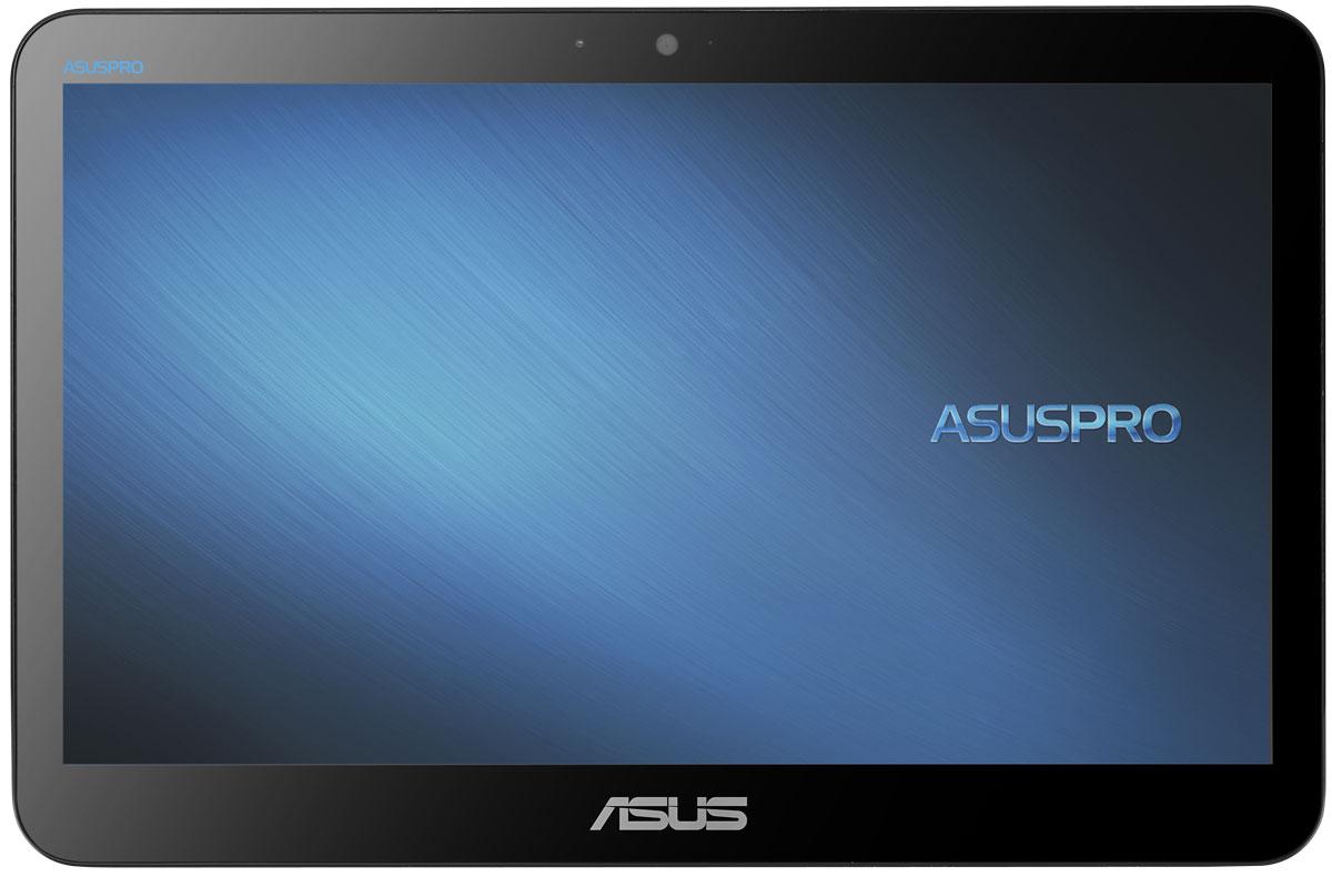 ASUS PRO A4110-WD074X, White моноблокA4110-WD074XASUS PRO A4110 - это моноблочный компьютер с мультисенсорным экраном размера 15,6 дюйма. Благодаря наличию множества интерфейсов, включая COM, USB 3.0, VGA и HDMI, к нему можно подключить самые разные периферийные устройства, а безвентиляторная система охлаждения делает его бесшумным в работе.В аппаратную конфигурацию данного компьютера входит процессор Intel Celeron J3160 с графическим ядром Intel HD Graphics и оперативная память 4 ГБ DDR3L. Современные компоненты обеспечивают хорошую скорость работы различных приложений и высокую энергоэффективность.Модель A4110 оснащена 15,6-дюймовым экраном с емкостным мультисенсорным интерфейсом, которому можно найти массу применений, от POS-аппаратов до образовательных систем.Точные характеристики зависят от модификации.Моноблок сертифицирован EAC и имеет русифицированную клавиатуру и Руководство пользователя.