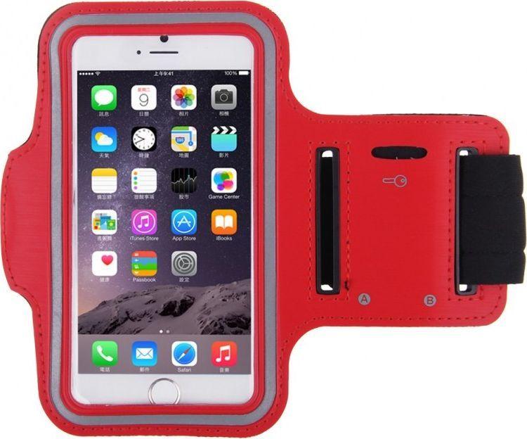 Fidget Go чехол на руку для смартфона 6.3, Red2212345678291Дисплей телефона остается функциональным, так как у чехла прозрачный карман, и это не мешает быть ему защищенным. Так же немаловажной особенностью является необходимые отверстия вверху и внизу для доступа к разъему наушников. Ремень для фиксации на руке с надежными, крепкими липучками. Так же есть кармашек для различной мелочи. Хорошо пропускаемая воздух микрофибра, из которой сделан нарукавник, не впитывает влагу, покрыта светоотражающей текстурой. Благодаря гибкому дизайну спортивного чехла на руку, можно заниматься любой спортивной деятельностью с комфортом