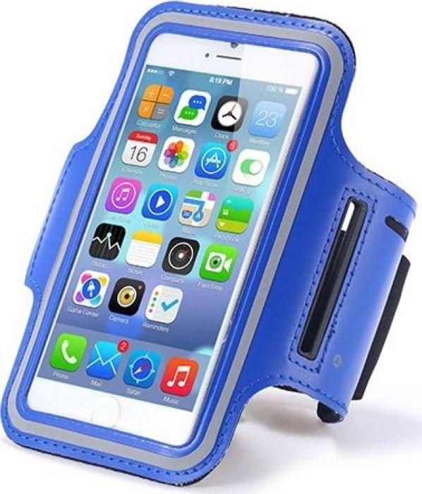 Fidget Go чехол на руку для смартфона 4.7, Blue2212345678309Дисплей телефона остается функциональным, так как у чехла прозрачный карман, и это не мешает быть ему защищенным. Так же немаловажной особенностью является необходимые отверстия вверху и внизу для доступа к разъему наушников. Ремень для фиксации на руке с надежными, крепкими липучками. Так же есть кармашек для различной мелочи. Хорошо пропускаемая воздух микрофибра, из которой сделан нарукавник, не впитывает влагу, покрыта светоотражающей текстурой. Благодаря гибкому дизайну спортивного чехла на руку, можно заниматься любой спортивной деятельностью с комфортом