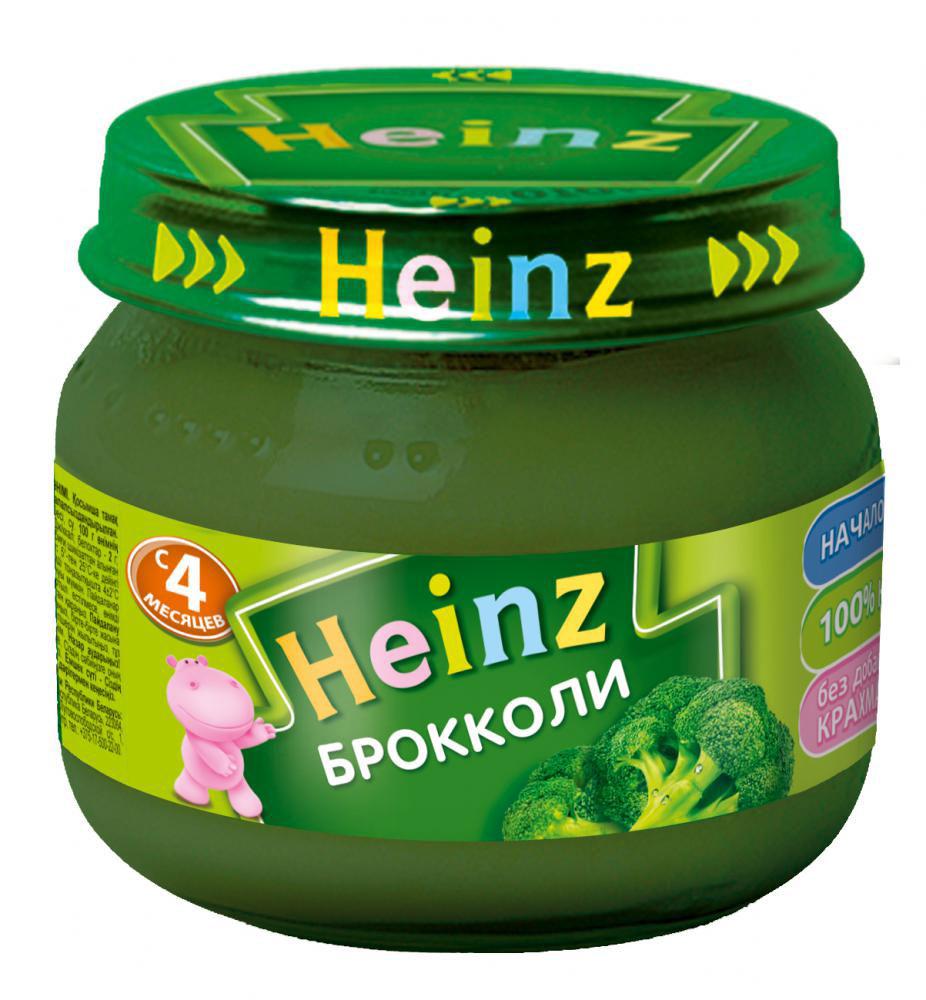 Heinz пюре брокколи, с 4 месяцев, 80 г heinz пюре цыпленок с телятинкой с 6 месяцев 80 г