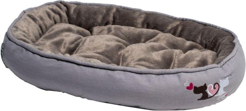 Лежак для кошек Rogz  Snug Podz , цвет: серый, 40 x 32 x 8 см - Лежаки, домики, спальные места