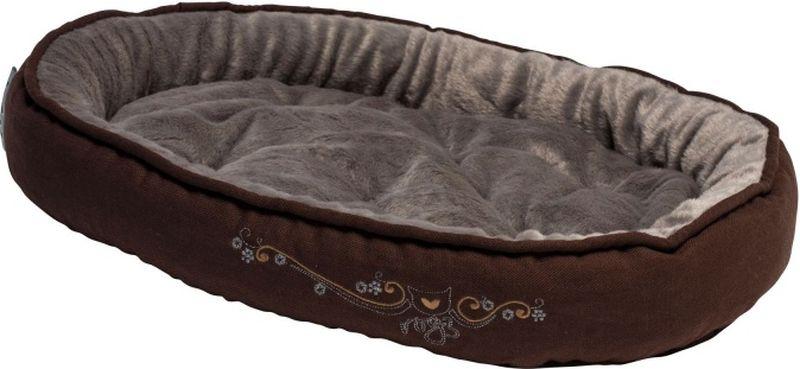 Лежак для кошек Rogz  Snug Podz , цвет: коричневый, 40 x 32 x 8 см - Лежаки, домики, спальные места