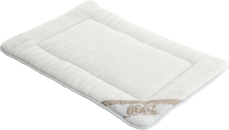 Лежак для собак Rogz Lounge Pod Mat, двусторонний, цвет: бежевый, 107 x 72 x 3,5 см5814Суперкомфортный двусторонний коврик.Легко стирается.Высокопрочный материал.Легко сворачивается и не занимает много места.