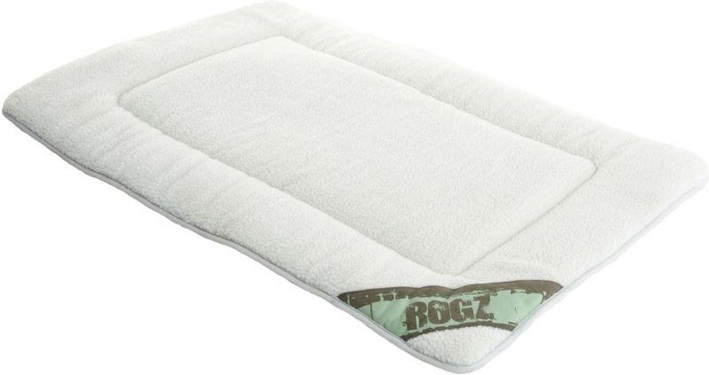 Лежак для собак Rogz Lounge Pod Mat, двусторонний, цвет: оливковый, 69 x 48 x 2 см ас зоо лежак с бортиком пэчворк 2 49х38