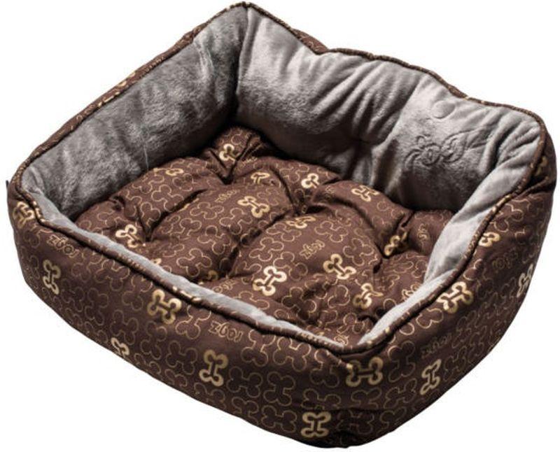 Лежак для собак Rogz  Trendy Podz , цвет: коричневый, 43 x 30 x 18,5 см - Лежаки, домики, спальные места