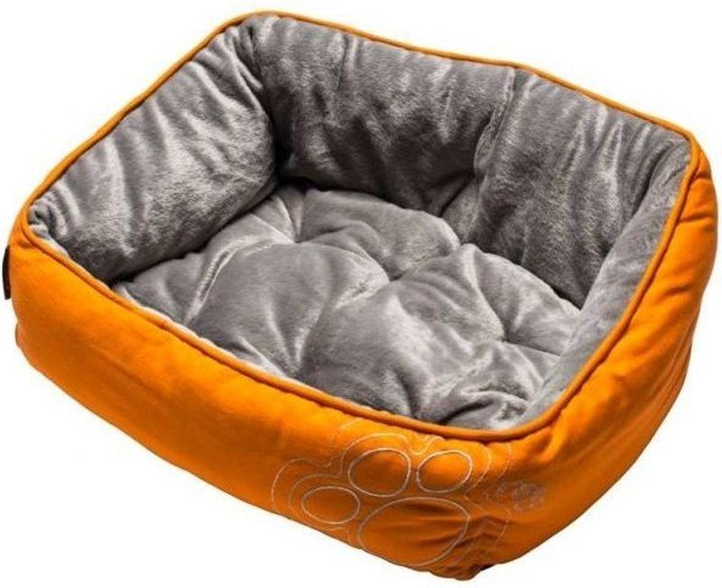 Лежак для собак Rogz  Luna Podz , цвет: оранжевый, 56 x 43 x 29 см - Лежаки, домики, спальные места