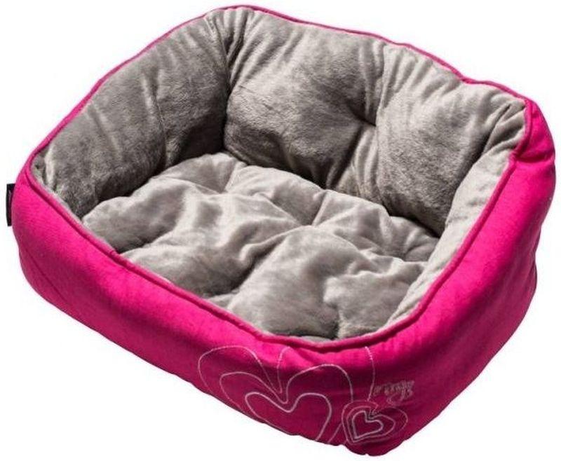 Лежак для собак Rogz Luna Podz, цвет: розовый, 56 x 43 x 29 смUPM05Лежак для собак Rogz Lounge Podz с бортами и двусторонней подушкой станет уютным и удобным местом для вашего питомца.