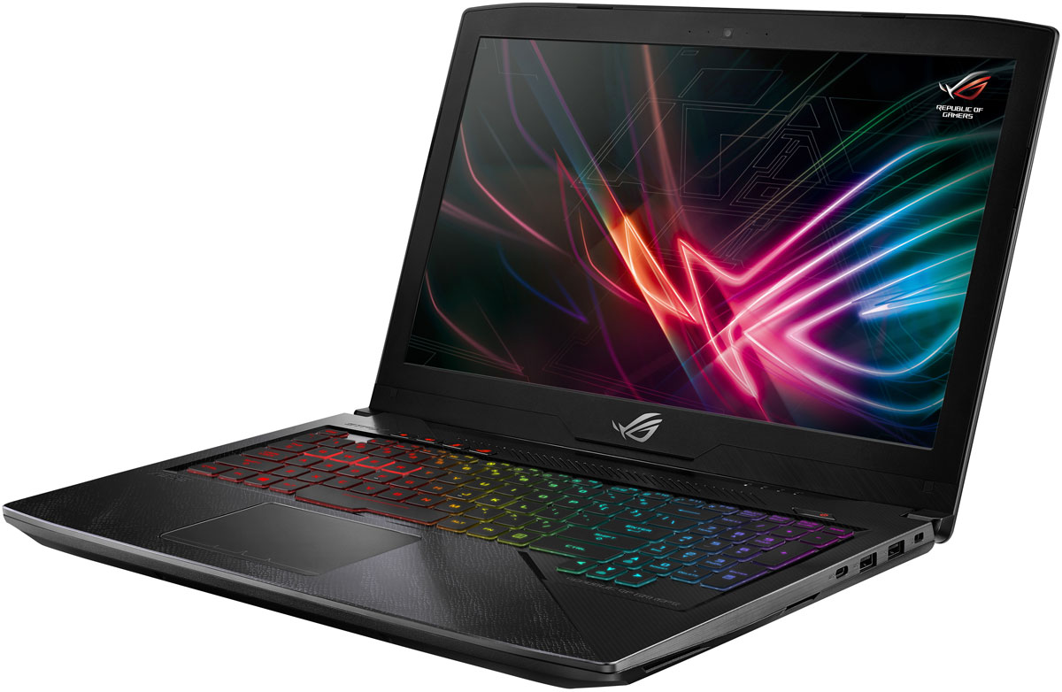 ASUS ROG GL503VD-GZ368 Strix Hero Edition, Black (90NB0GQ4-M06590) клавиатура asus strix tactic pro cherry mx black black usb 90yh0081 b2ra00