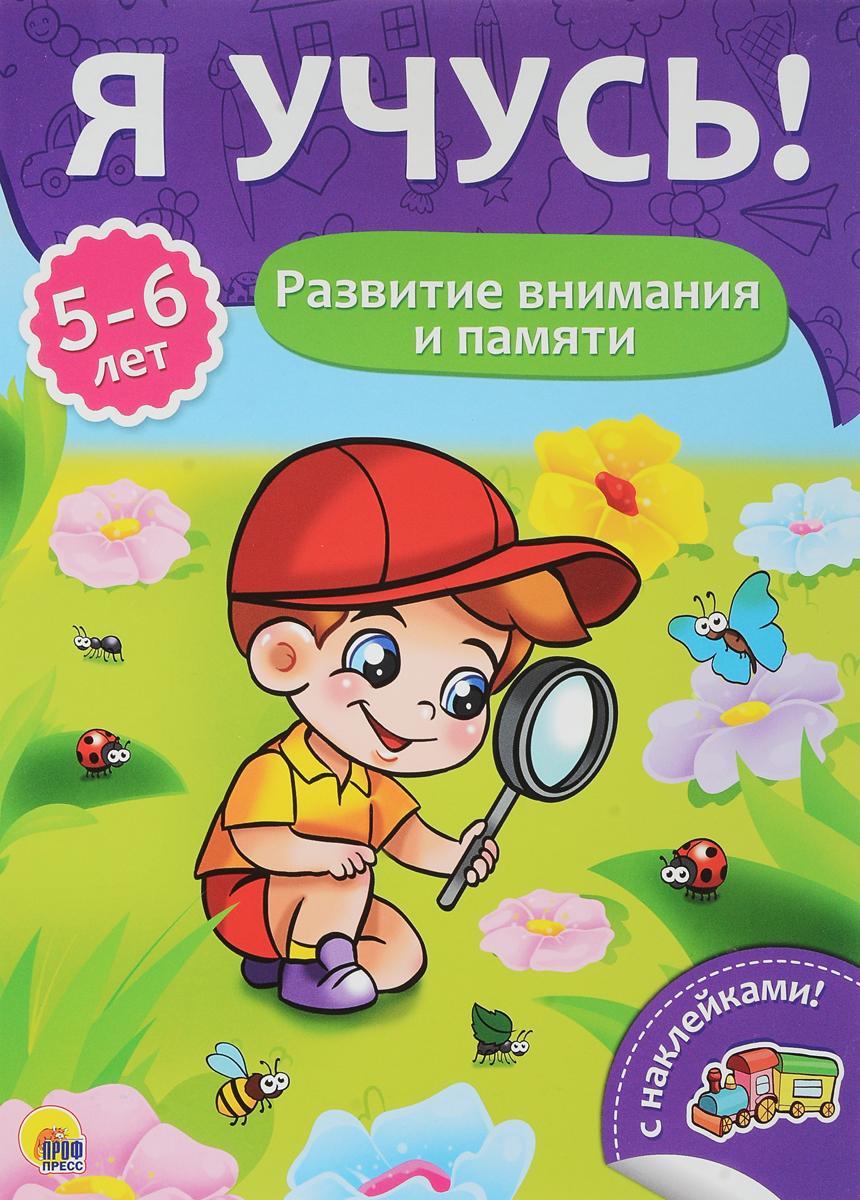 Развитие внимания и памяти. Для детей от 5 до 6 лет.