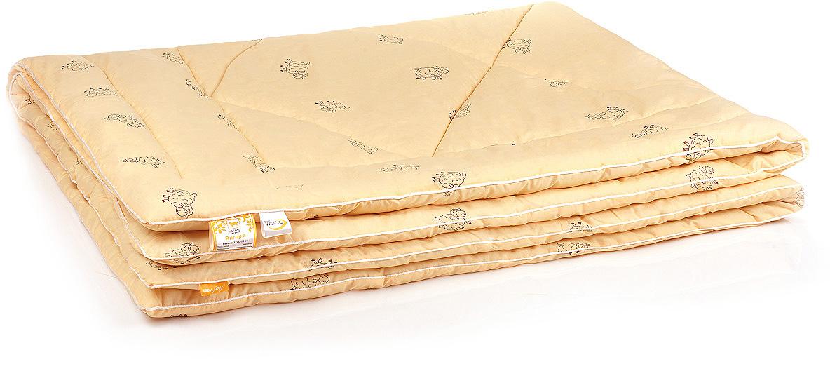 Одеяло Belashoff Ангора, стеганое легкое, цвет: бежевый, 140 х 205 смОШО 4 - 1 ЛДля любителей долговечных натуральных вещей — одеяло Ангора. В качестве наполнителя здесь используется тонкорунная овечья шерсть, известная своими целебными свойствами. Мягкое и нежное на ощупь, это одеяло прекрасно регулирует влажность, предохраняет от переохлаждения и перегрева, создавая все необходимые условия для здорового сна.