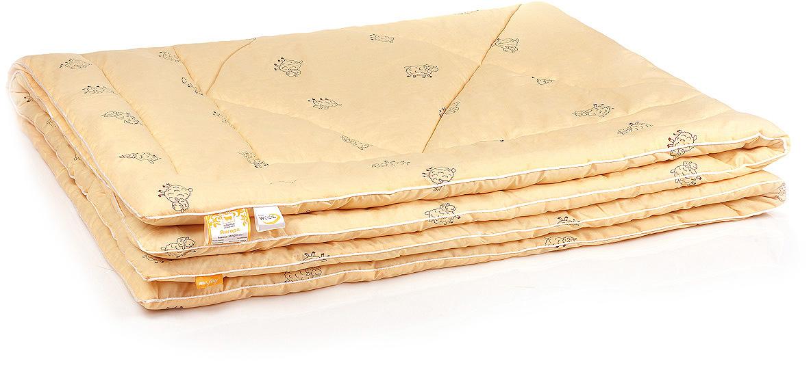 Одеяло Belashoff Ангора, стеганое легкое, цвет: бежевый, 172 х 205 смОШО 4 - 2 ЛДля любителей долговечных натуральных вещей — одеяло Ангора. В качестве наполнителя здесь используется тонкорунная овечья шерсть, известная своими целебными свойствами. Мягкое и нежное на ощупь, это одеяло прекрасно регулирует влажность, предохраняет от переохлаждения и перегрева, создавая все необходимые условия для здорового сна.
