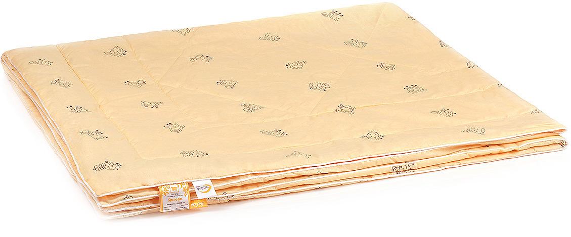 Одеяло Belashoff Ангора, стеганое супер-легкое, цвет: бежевый, 140 х 205 смОШО 4 - 1 СЛДля любителей долговечных натуральных вещей — одеяло Ангора. В качестве наполнителя здесь используется тонкорунная овечья шерсть, известная своими целебными свойствами. Мягкое и нежное на ощупь, это одеяло прекрасно регулирует влажность, предохраняет от переохлаждения и перегрева, создавая все необходимые условия для здорового сна.