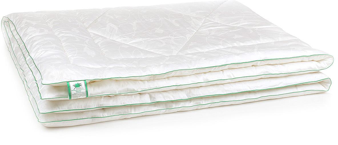 Одеяло Belashoff Бамбук, стеганое, цвет: белый, 140 х 205 смОБ 1 - 1Благодаря своим индивидуальным свойствам и современной технологии переработки, бамбуковое волокно — это уникальный инновационный и экологически чистый наполнитель! Природный антисептик, гипоаллергенный, мягкий и нежный, он сохраняет свои потребительские свойства даже после многократных циклов стирок и сушек. Чехол на молнии позволяет регулировать степень поддержки подушки. Красивая и удобная упаковка имеет благородный презентабельный вид, а также позволяет правильно хранить подушки и одеяла.