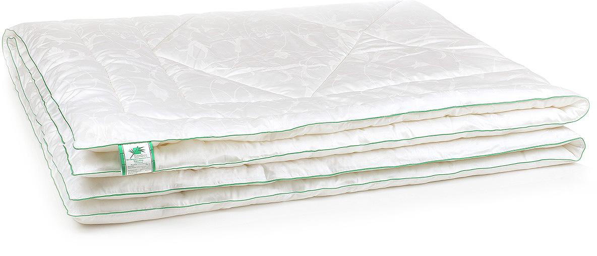Одеяло Belashoff Бамбук, стеганое, цвет: белый, 200 х 220 смОБ 1 - 3Благодаря своим индивидуальным свойствам и современной технологии переработки, бамбуковое волокно — это уникальный инновационный и экологически чистый наполнитель! Природный антисептик, гипоаллергенный, мягкий и нежный, он сохраняет свои потребительские свойства даже после многократных циклов стирок и сушек. Чехол на молнии позволяет регулировать степень поддержки подушки. Красивая и удобная упаковка имеет благородный презентабельный вид, а также позволяет правильно хранить подушки и одеяла.
