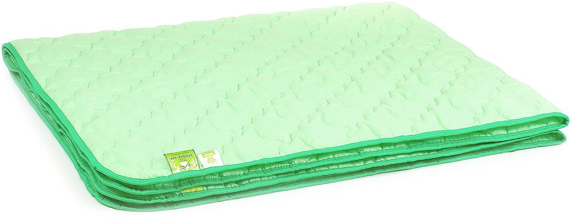 Одеяло Belashoff Бамбук-Эко, цвет: зеленый, 140 х 205 смОБ 2 - 1Коллекция Бамбук-Эко — облегченный вариант изделий с наполнителем из бамбукового волокна: одеяло, стеганое фантазийными узорами стежки, идеально подходит для летнего сезона, а использование современных синтетических тканей повышает износостойкость изделий.