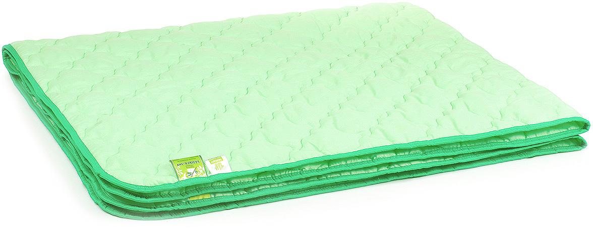 Одеяло Belashoff Бамбук-Эко, цвет: зеленый, 172 х 205 смОБ 2 - 2Коллекция Бамбук-Эко — облегченный вариант изделий с наполнителем из бамбукового волокна: одеяло, стеганое фантазийными узорами стежки, идеально подходит для летнего сезона, а использование современных синтетических тканей повышает износостойкость изделий.
