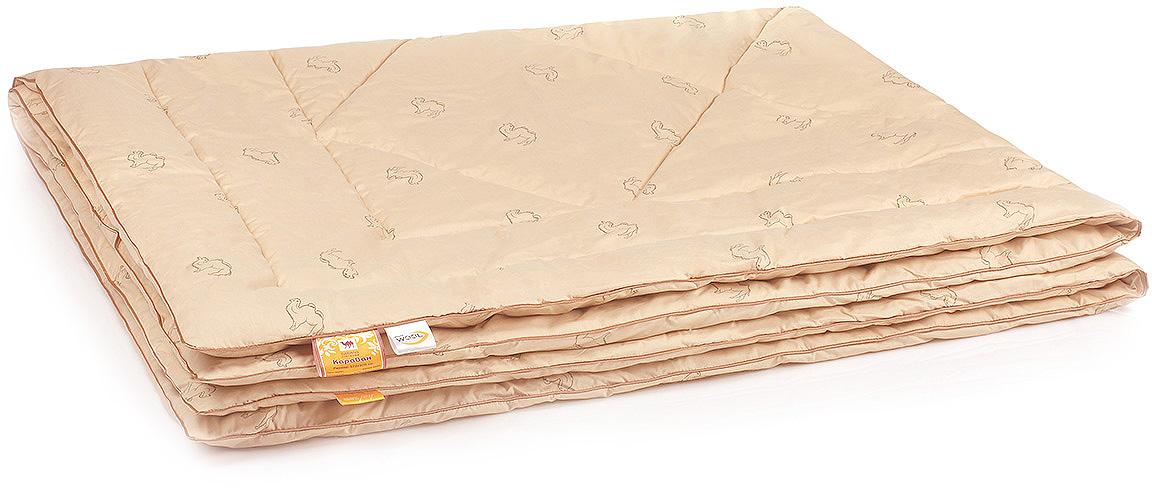 Одеяло Belashoff Караван, стеганое, цвет: бежевый, 172 х 205 смОШВ 4 - 2Изделия из верблюжьей шерсти подарят Вам не только теплый комфортный сон, но и здоровье. В нашей коллекции Караван наполнитель из верблюжьей шерсти с использованием новейшей технологии ее обработки — упругий и мягкий одновременно, обладает чудесным свойством снимать напряжение, накопившееся у человека за день.