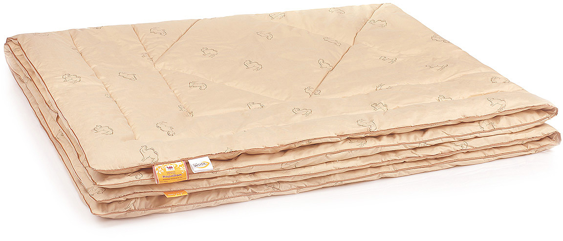 Одеяло Belashoff Караван, стеганое, цвет: бежевый, 200 х 220 смОШВ 4 - 3Изделия из верблюжьей шерсти подарят Вам не только теплый комфортный сон, но и здоровье. В нашей коллекции Караван наполнитель из верблюжьей шерсти с использованием новейшей технологии ее обработки — упругий и мягкий одновременно, обладает чудесным свойством снимать напряжение, накопившееся у человека за день.
