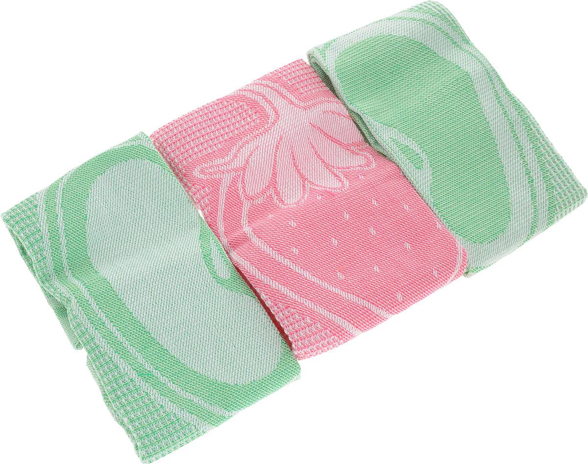 Набор кухонных полотенец Bonita Фруктовый коктейль, цвет: салатовый, розовый, 3 шт11010116595_салатовый, розовыйНабор Bonita Фруктовый коктейль из трех салфеток, изготовленных из натурального хлопка, идеально дополнит интерьер вашей кухни и создаст атмосферу уюта и комфорта. Изделия выполнены из натурального материала, поэтому являются экологически чистыми. Высочайшее качество материала гарантирует безопасность не только взрослых, но и самых маленьких членов семьи. Современный декоративный текстиль для дома должен быть экологически чистым продуктом и отличаться ярким и современным дизайном.Размер: 30 х 30 см.