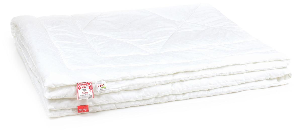Одеяло Belashoff Уют, стеганое, цвет: белый, 140 х 205 смОХ 4 - 1Из множества приятных свойств и достоинств мы сложили формулу Уюта и рады поделиться ею с настоящими ценителями комфортного сна.Экологически чистый и самый популярный на сегодняшний день искусственный наполнитель Новолон представлен в коллекции Уют. Изделия из него почти не имеют веса, воздушные и упругие.Легкие в уходе и гигиеничные, благодаря возможно машинной стирке, эти подушки и одеяла привлекают длительной износостойкостью и невысокой ценой.