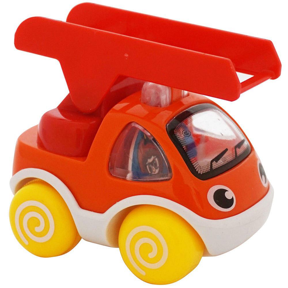 BebeLino Машинка инерционная Быстрые помощники цвет оранжевый