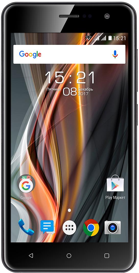 Fly FS529, Black107595,0 IPS дисплей (720 x 1280 пикc, HD); 4G LTE; операционная система Android 7.0; 4-х ядерный процессор SC9832, частота 1.3 Ггц; память телефона ROM 8 Гб, оперативная память RAM 1Гб, поддержка карт памяти microSDHC (до 32 Гб); основная камера 8.0 Мпикс ( 3264 x 2448 пикс), фронтальная камера 2 Мпикс (1600 x 1200 пикс); 2 SIM; батарея 2150 мАч, Li-ion; размер 143.9 x 72.3 x 9.35 мм; вес 160.0 г