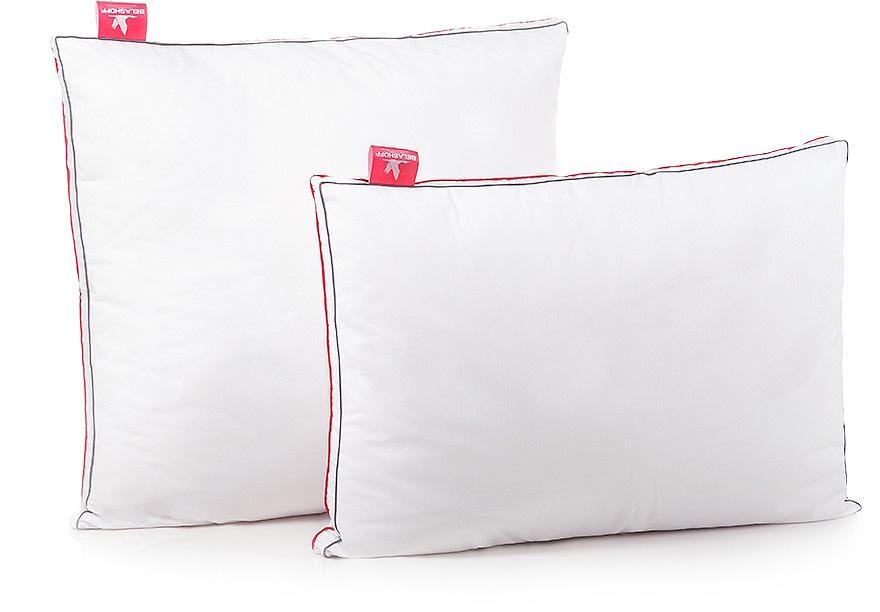 Подушка Belashoff Duo Clim, цвет: белый, 50 х 70 смПД 2Постельные принадлежности DuoClim, использующие технологию Outlast Adaptive Comfort, обеспечат Вам прекрасное самочувствие, поскольку они принимают на себя тепло Вашего тела, когда Вам жарко, и отдают тепло обратно, когда Вам это необходимо.В нашей коллекции мы используем два вида ткани: с одной стороны Outlast – терморегулирующая, прохладная на ощупь, с другой стороны – хлопковая ткань – натуральная и гигроскопичная.