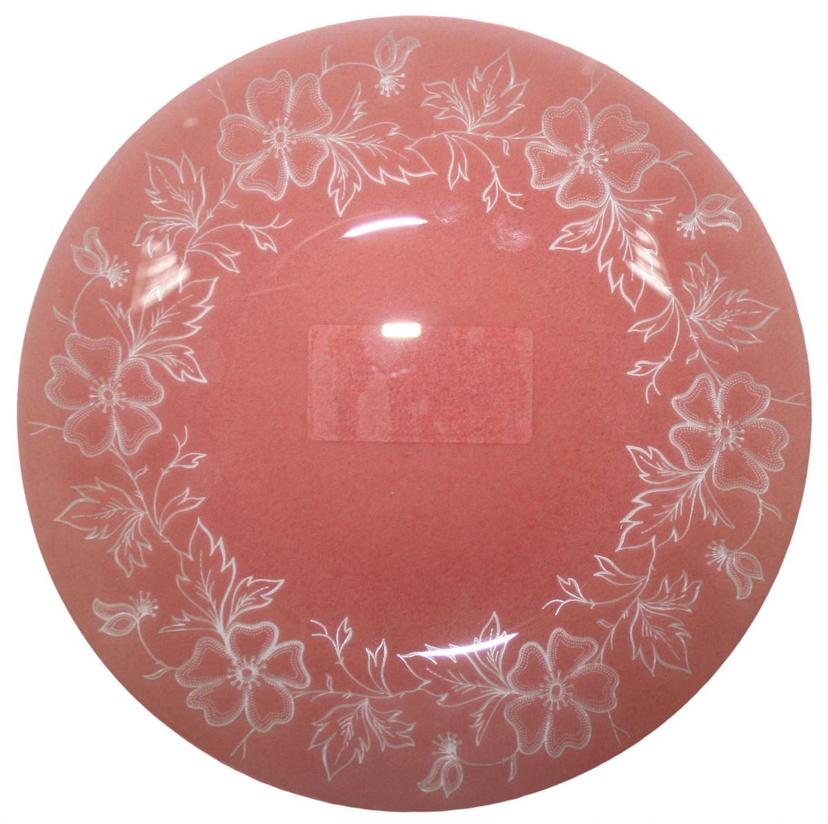 Тарелка десертная NiNaGlass Лара, цвет: красный, диаметр 20 см85-200-075кТарелка NiNaGlass Лара выполнена из высококачественного стекла и оформлена красивым цветочным узором. Тарелка идеальна для подачи вторых блюд, а также сервировки закусок, нарезок, салатов, овощей и фруктов. Она отлично подойдет как для повседневных, так и для торжественных случаев. Такая тарелка прекрасно впишется в интерьер вашей кухни и станет достойным дополнением к кухонному инвентарю.