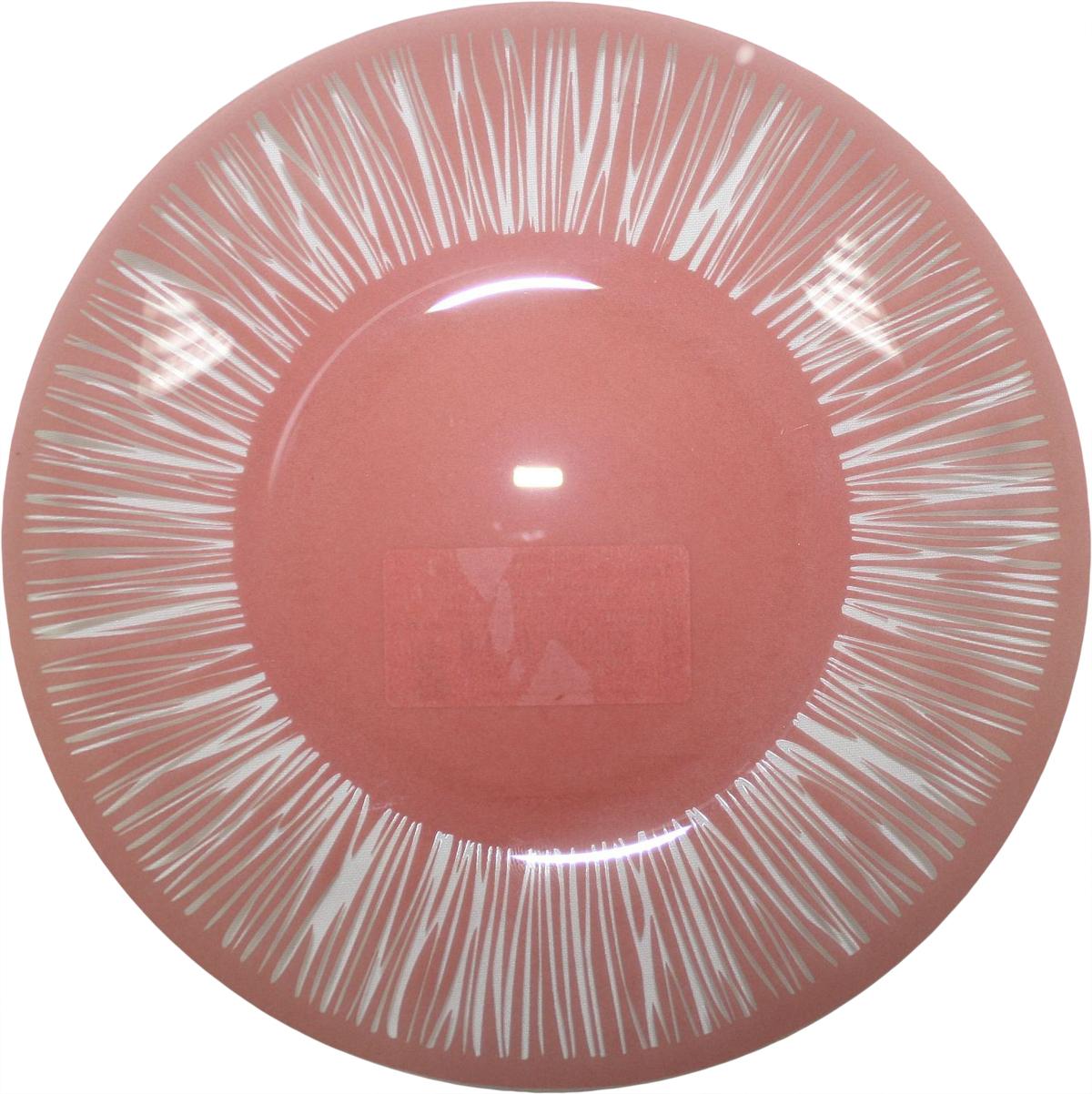 """Тарелка NiNaGlass """"Витас"""" изготовлена из высококачественного стекла. Изделие декорировано оригинальным дизайном. Такая тарелка отлично подойдет в качестве блюда, она идеальна для сервировки закусок, нарезок, горячих блюд. Тарелка прекрасно дополнит сервировку стола и порадует вас оригинальным дизайном."""