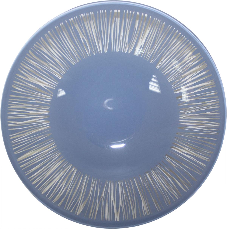 Тарелка глубокая NiNaGlass Витас, цвет: розовый, диаметр 22 см85-225-016пкТарелка NiNaGlass Витас изготовлена из высококачественного стекла. Изделие декорировано оригинальным дизайном. Такая тарелка отлично подойдет в качестве блюда, она идеальна для сервировки закусок, нарезок, горячих блюд. Тарелка прекрасно дополнит сервировку стола и порадует вас оригинальным дизайном.