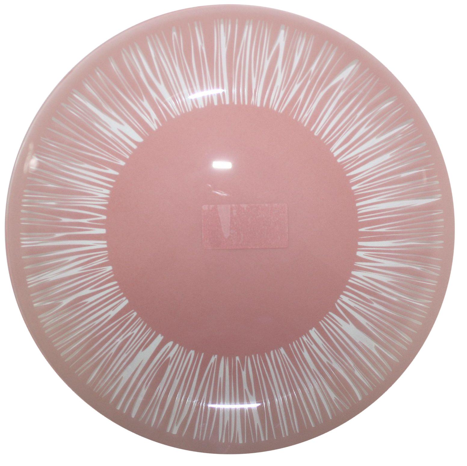 Тарелка NiNaGlass Витас, цвет: красный, диаметр 30 см85-300-016пкТарелка NiNaGlass Витас изготовлена из высококачественного стекла. Изделие декорировано оригинальным дизайном. Такая тарелка отлично подойдет в качестве блюда, она идеальна для сервировки закусок, нарезок, горячих блюд. Тарелка прекрасно дополнит сервировку стола и порадует вас оригинальным дизайном.