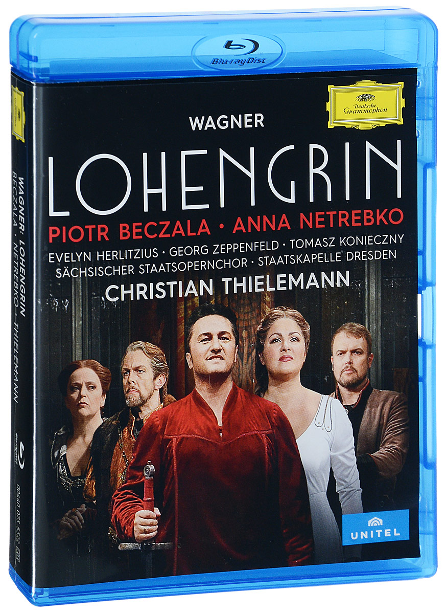 Wagner: Lohengrin: Piotr Beczala, Anna Netrebko, Christian Thielemann (Blu-ray) anna netrebko live from the salzburg festival 3 blu ray