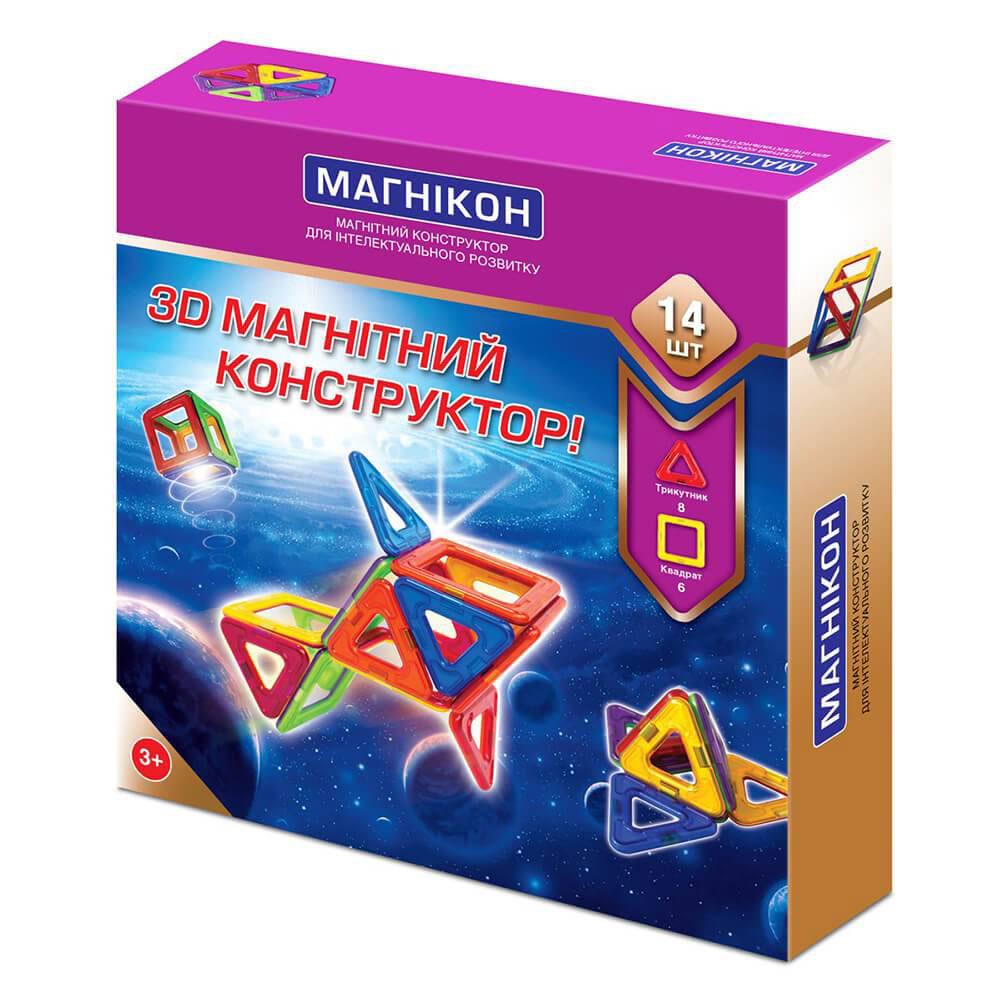 Магникон Магнитный конструктор MK-14