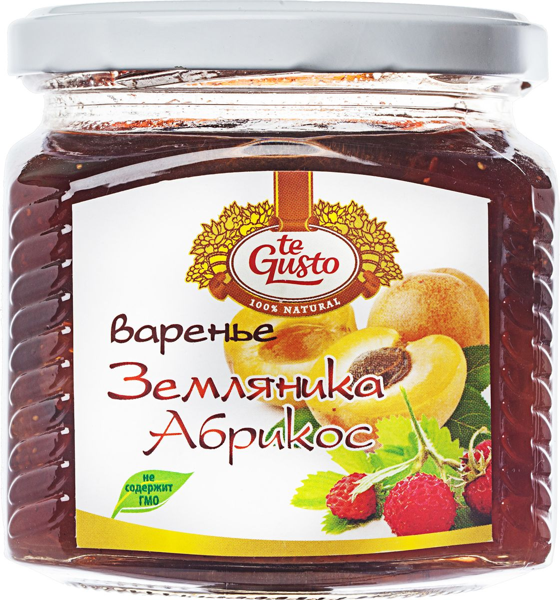 te Gusto Варенье из земляники и абрикоса, 470 г шоколадка 35х35 printio бодрящий напиток