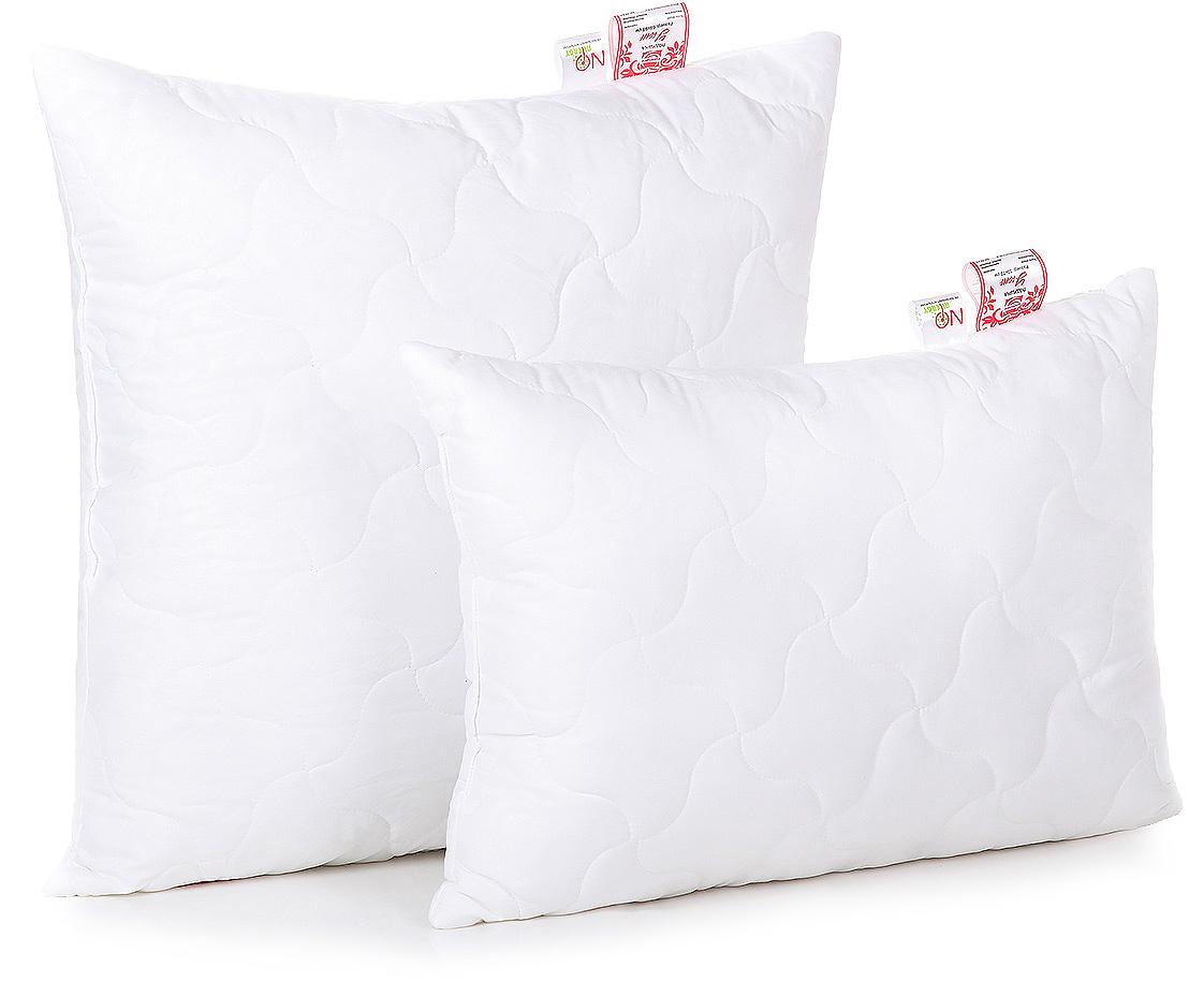 """Подушка Belashoff """"Уют"""", средняя, цвет: белый, 50 х 70 см"""