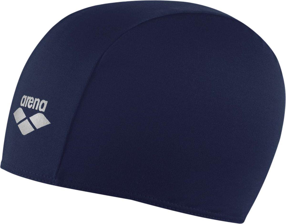 Шапочка для плавания Arena Polyester, цвет: темно-синийУТ-00002721Шапочка для плавания Polyester - это шапочка для активного отдыха из текстильного материала от всемирно известного бренда Arena. Она очень легкая, так как сделана из полиэстера, и не холодит голову, как силиконовые шапочки. Благодаря трехпанельной эргономичной форме ее легко надевать, при этом шапочка будет плотно держаться на готове, не спадая и не съезжая на глаза.Характеристики:Цвет: navyМатериал: 100% полиэстер Серия: взрослыеРазмер: один размер