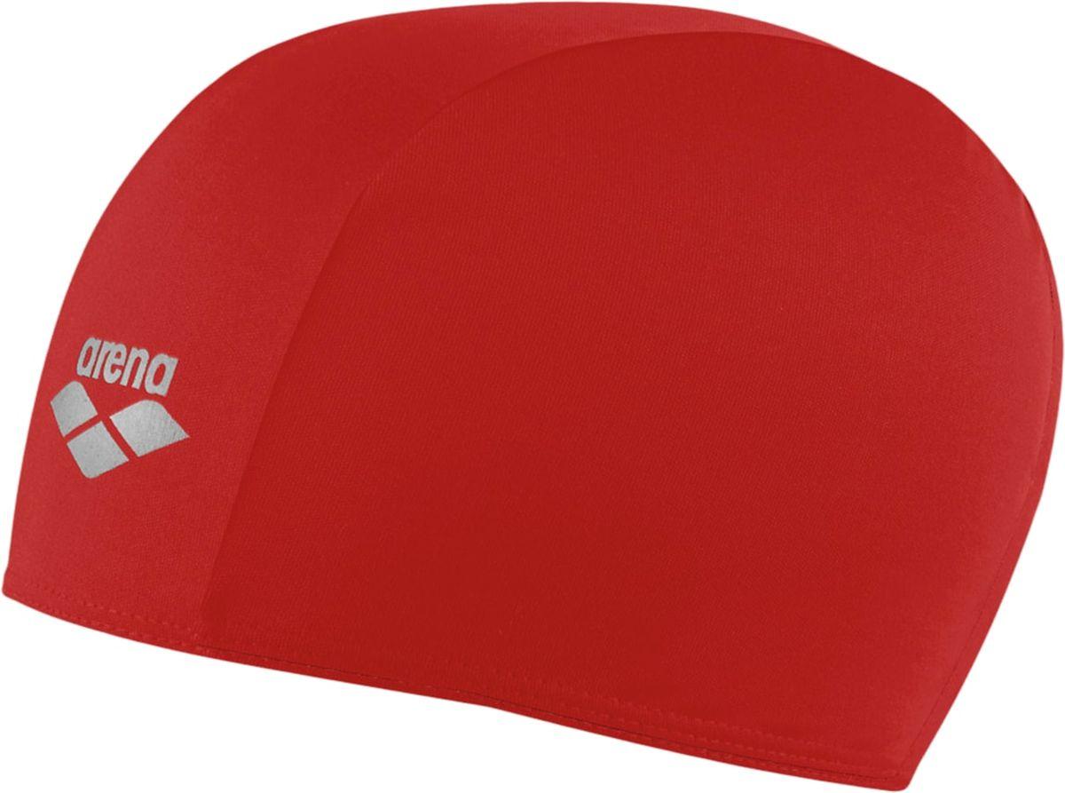 Шапочка для плавания Arena Polyester, цвет: красныйУТ-00002722Шапочка для плавания Polyester - это шапочка для активного отдыха из текстильного материала от всемирно известного бренда Arena. Она очень легкая, так как сделана из полиэстера, и не холодит голову, как силиконовые шапочки. Благодаря трехпанельной эргономичной форме ее легко надевать, при этом шапочка будет плотно держаться наготове, не спадая и не съезжая на глаза.