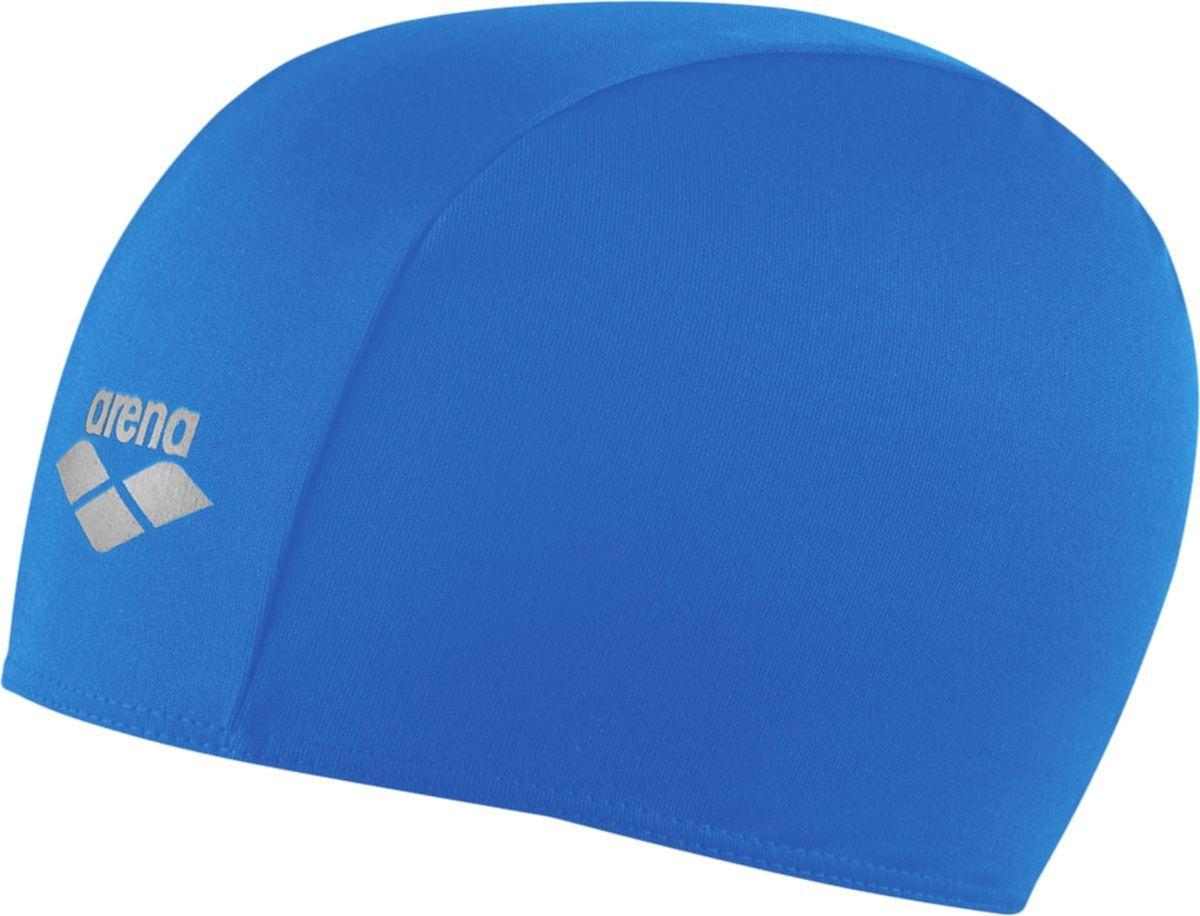 Шапочка для плавания Arena Polyester, цвет: голубой шапочка для плавания arena polyester  цвет  темно синий