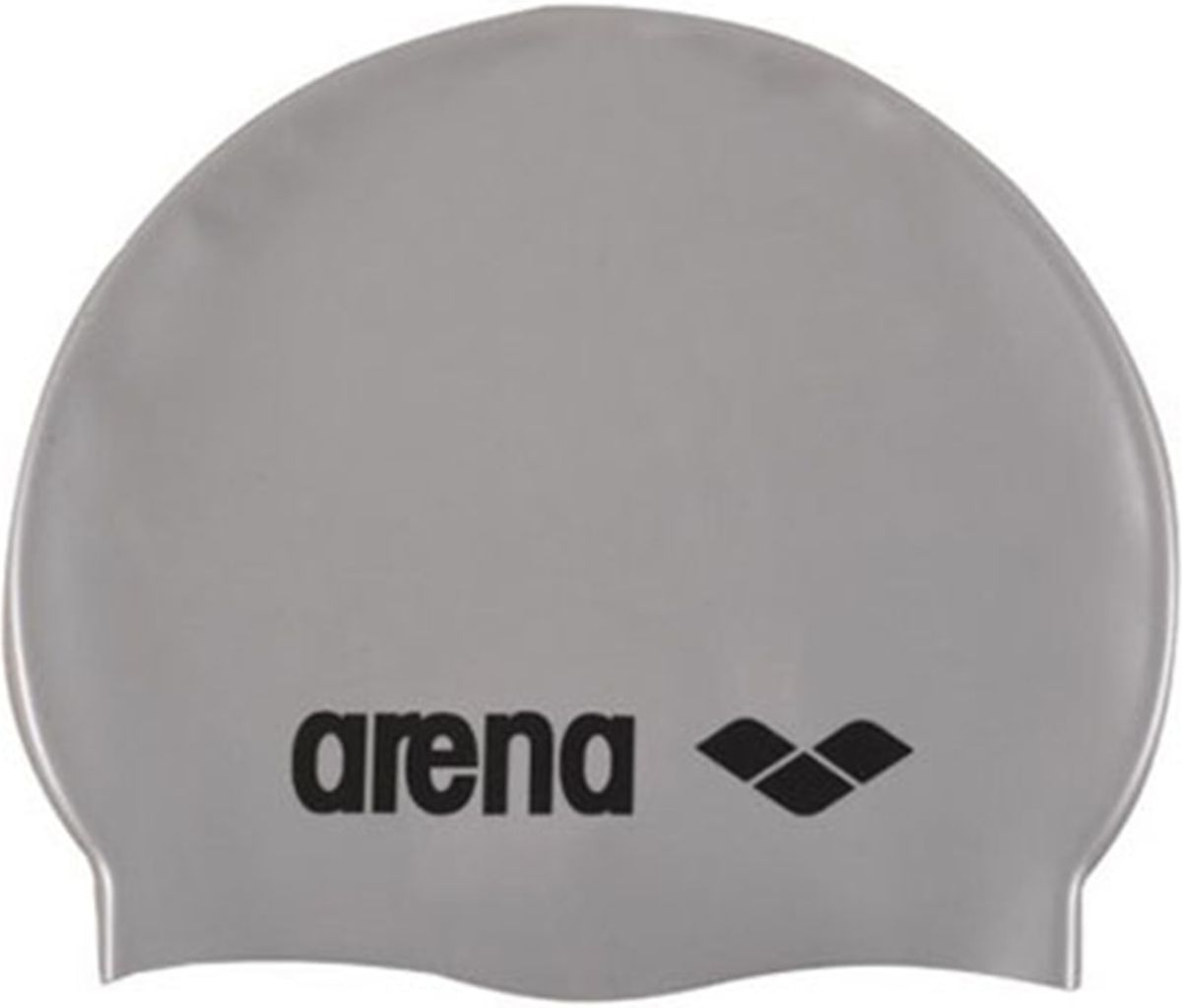 Шапочка для плавания Arena Classic Silicone Cap, цвет: серебристый цена