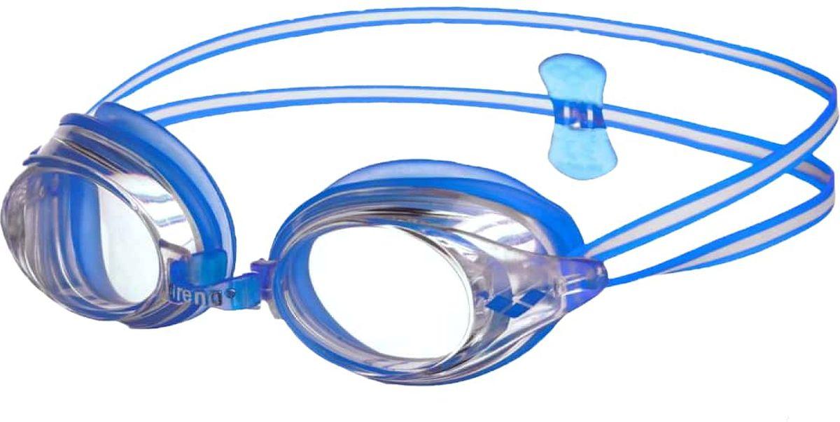 """Очки для плавания Arena """"Drive 3"""" - классические тренировочные очки.  Жесткие поликарбонатные линзы обеспечивают четкий, неискаженный вид под водой.  Уплотнитель из мягкого гипоаллергенного силикона - превосходная посадка и комфорт. Сменные носовые дужки для идеальной подгонки.  Двойной ремешок регулируется сзади при помощи клипсы и позволяет надежно фиксировать очки на голове. Материал линз: поликарбонат. Уплотнитель: силикон. Переносица: сменные носовые дужки. Ремешок: регулирующийся, с затылочной клипсой."""