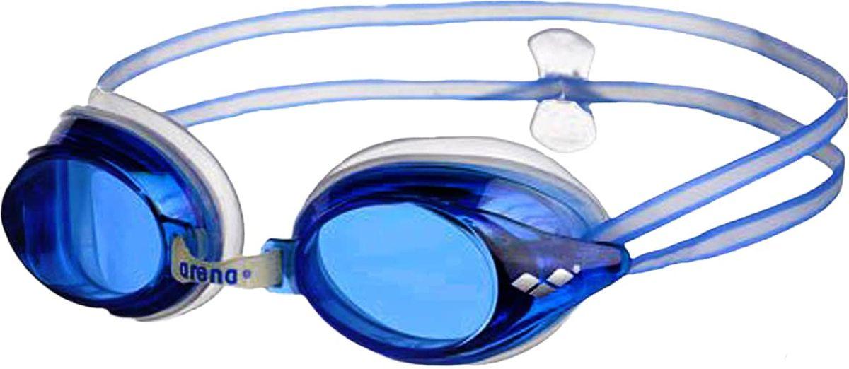 Очки для плавания Arena Drive 3, цвет: голубойУТ-00009525Очки Drive 3 - классические тренировочные очки. Жесткие поликарбонатные линзы обеспечивают четкий, неискаженный вид под водой. Уплотнитель из мягкого гипоаллергенного силикона - превосходная посадка и комфорт. Сменные носовые дужки для идеальной подгонки. Двойной ремешок регулируется сзади при помощи клипсы и позволяет надежно фиксировать очки на голове.Характеристики:Категория: взрослыеМатериал линз: поликарбонатУплотнитель: силиконПереносица: сменные носовые дужкиРемешок: регулирующийся, с затылочной клипсойРазмер: одинЦвет: Blue/Blue