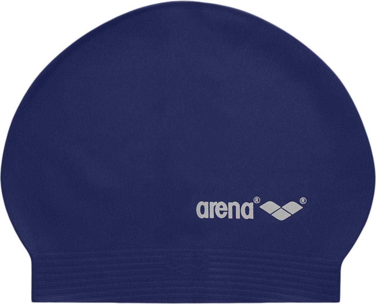 Шапочка для плавания Arena SoftLatex, цвет: темно-синий шапочка для плавания arena polyester  цвет  темно синий