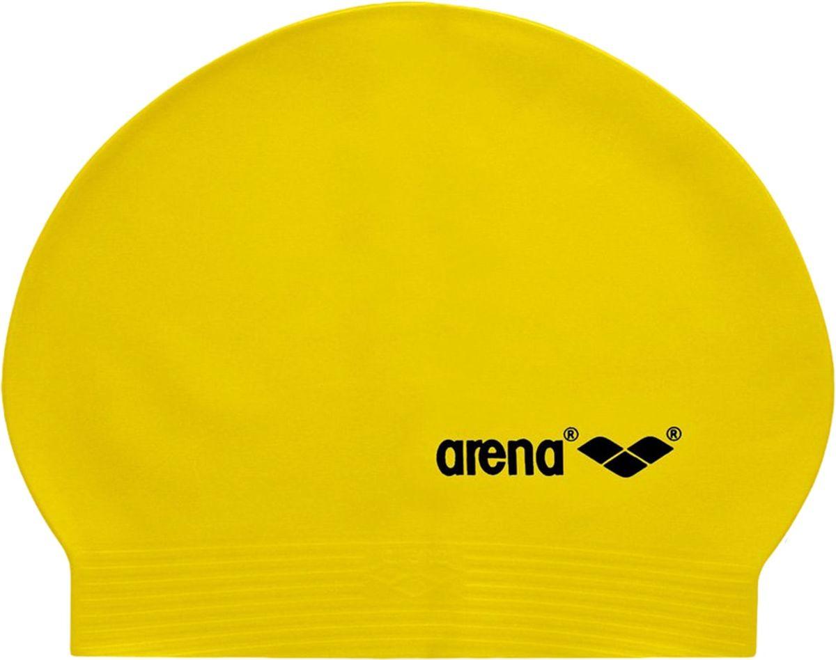 Шапочка для плавания Arena SoftLatex, цвет: желтыйУТ-00009726Шапочка для плавания (латексная) Arena Light SoftLatex - легкая шапочка классической формы. Специальный состав изделия обеспечивает превосходную эластичность и комфорт.Латексная шапочка - самый бюджетный вариант. Она подойдет в качестве запасной или для людей, редко посещающих бассейн. Чем короче волосы, тем легче надевается шапочка. Она довольно уязвима и может порваться при резком движении или от острой заколки.Важно: чтобы латексная шапочка не склеилась, после высыхания ее следует обработать тальком. Характеристики:Цвет: yellow/blackМатериал: 100% латексСерия: Active Размер: один