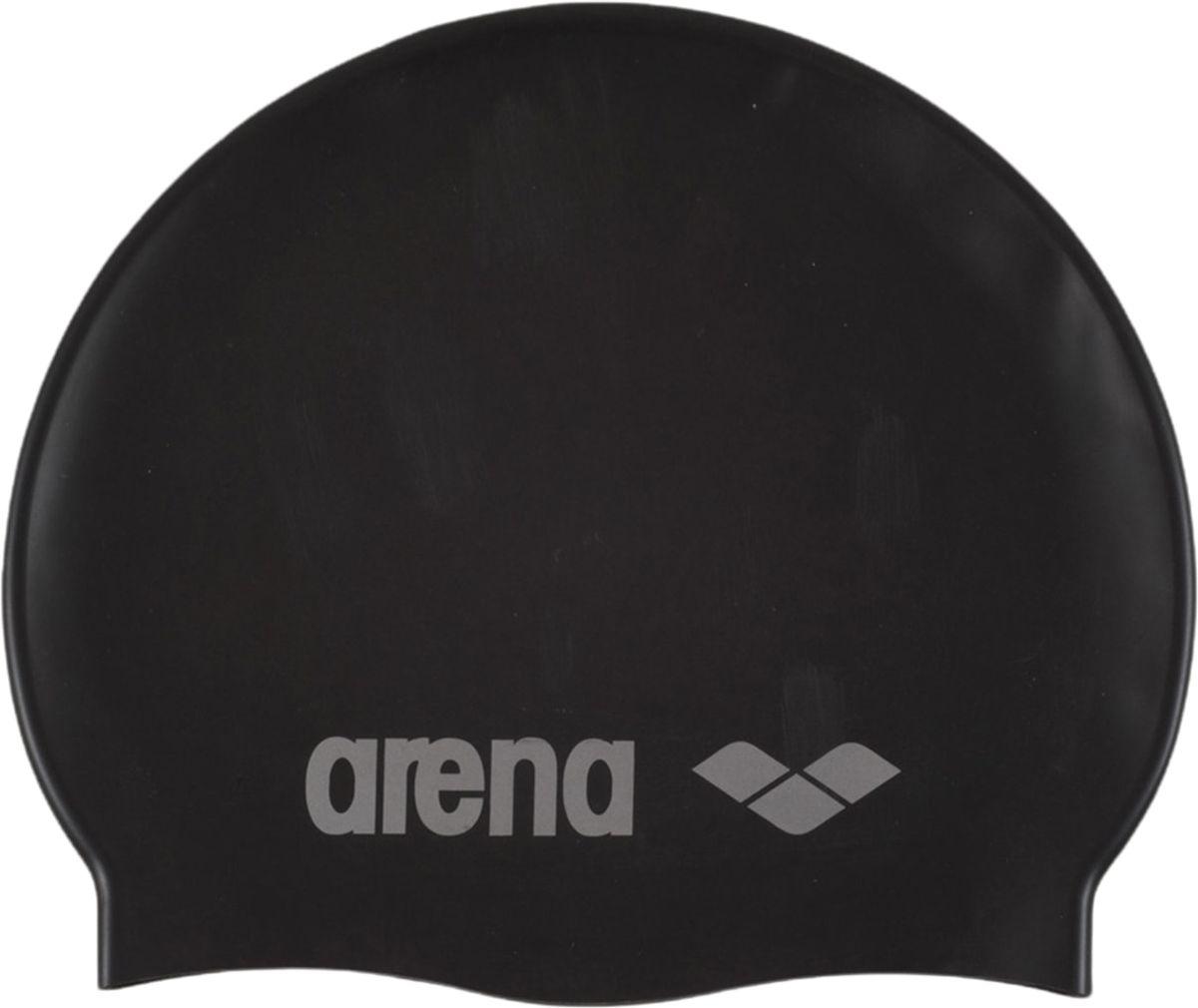 Шапочка для плавания Arena Classic Silicone JR, цвет: черный цена