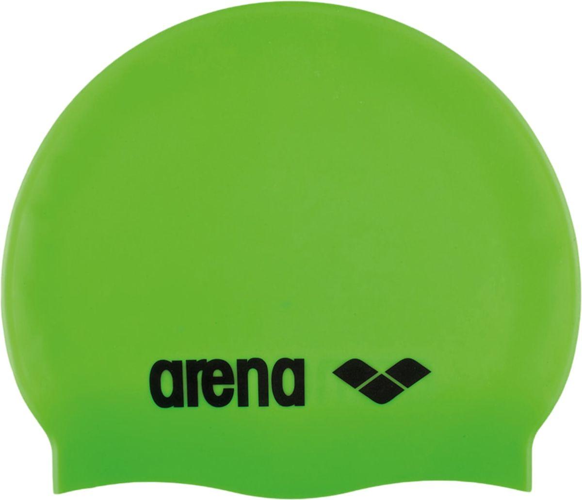 Шапочка для плавания Arena Classic Silicone JR, цвет: зеленыйУТ-00010233Шапочка для плавания (силиконовая) Arena Classic JR Silicone Cap - комфортная детская мягкая шапочка для тренировок. Классическая плоская форма и плотное облегание головы.Модель шапочки для плавания из силикона на ощупь материал препятствует склеиванию и прилипанию волос, облегчает снятие шапочки после использования.Силикон быстро сохнет, его не нужно посыпать тальком – достаточно после сеанса в бассейне сполоснуть шапочку в пресной проточной воде и высушить при комнатной температуре. Силиконовые шапочки довольно прочные, но длинные волосы лучше закреплять резинками, а не заколками. Силикон не вызывает аллергии и может использоваться людьми с чувствительной кожей.Характеристики: Цвет: acid lime/blackМатериал: 100% силиконРазмер: один