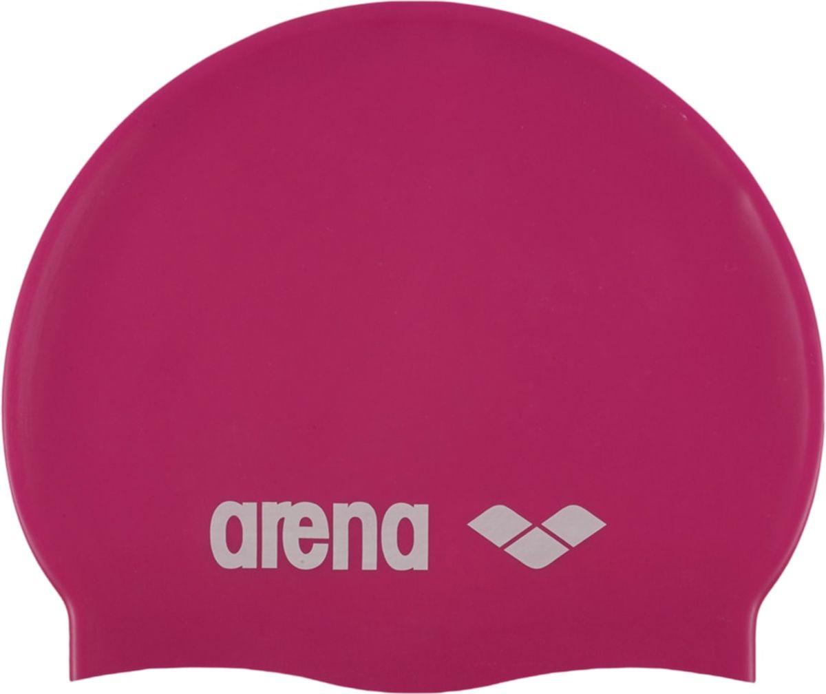 Шапочка для плавания Arena Classic Silicone JR, цвет: фуксия цена