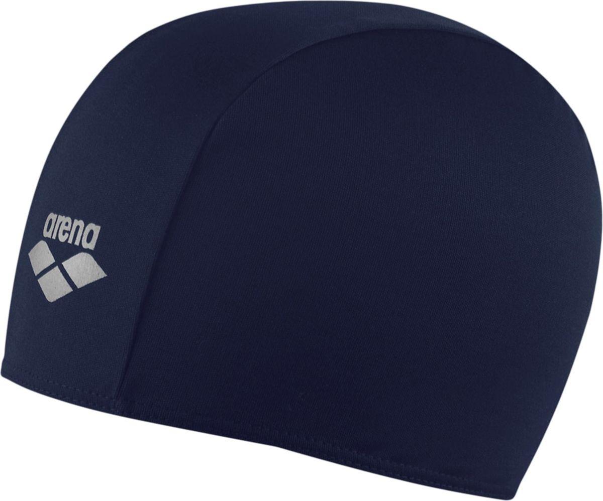 Шапочка для плавания Arena Polyester Jr, цвет: черныйУТ-00010245Шапочка для плавания Polyester - это детская шапочка для активного отдыха из текстильного материала от всемирно известного бренда Arena. Она очень легкая, так как сделана из полиэстера, и не холодит голову, как силиконовые шапочки. Благодаря трехпанельной эргономичной форме ее легко надевать, при этом шапочка будет плотно держаться на готове, не спадая и не съезжая на глаза.Характеристики:Цвет: navyМатериал: 100% полиэстер Серия: взрослыеРазмер: один размер