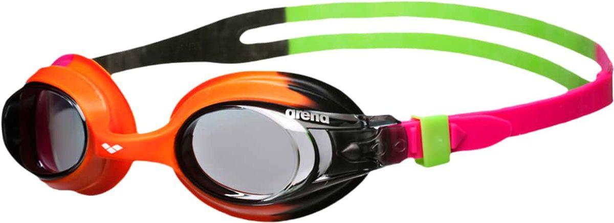 Очки для плавания Arena X-Lite Kids, цвет: оранжевый, розовыйУТ-00011165Очки Arena X-Lite Kids - комфортные тренировочные очки для малышей. Оправа и уплотнитель выполнены из мягкого силикона. Саморегулирующаяся переносица для идеальной посадки на лице. Удобство и простота настройки очков обеспечивается автоматически регулируемой системой контроля боковых клипс. 100% защита от ультрафиолетовых лучей. Система анти-туман.Характеристики:Категория: детиМатериал линз: поликарбонатУплотнитель: силиконПереносица: саморегулирующаясяРемешок: регулирующийся, с системой боковых клипсРазмер: одинЦвет: Pink/pink