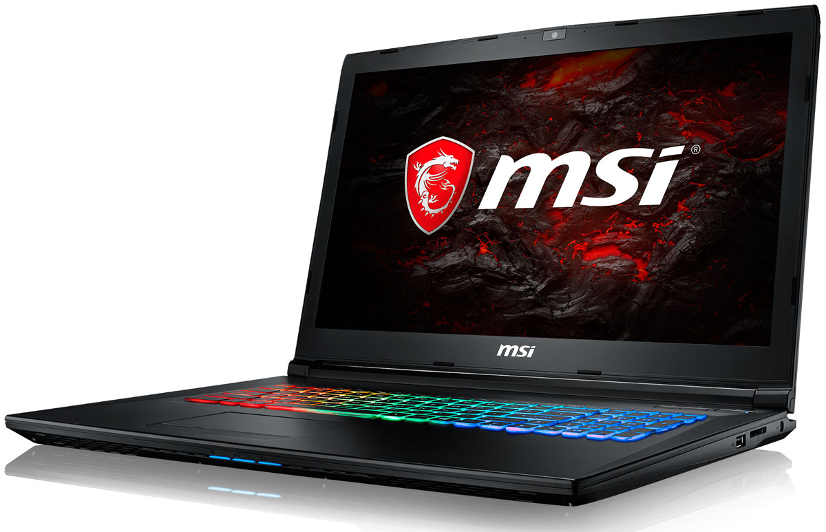 MSI GP72MVR 7RFX-678RU Leopard Pro, Black ноутбук msi gs43vr 7re 094ru phantom pro 9s7 14a332 094