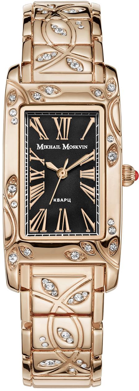Часы наручные женские Mikhail Moskvin, цвет: золотистый. 1256A8B4